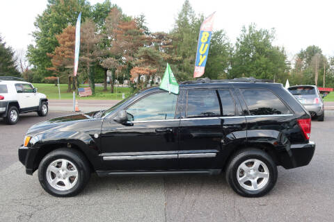 2007 Jeep Grand Cherokee for sale at GEG Automotive in Gilbertsville PA