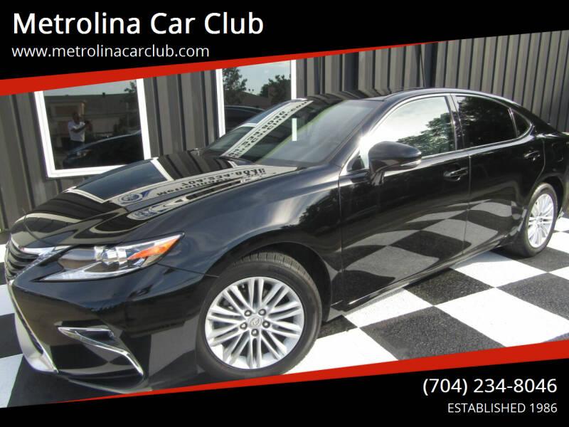 2017 Lexus ES 350 for sale at Metrolina Car Club in Matthews NC