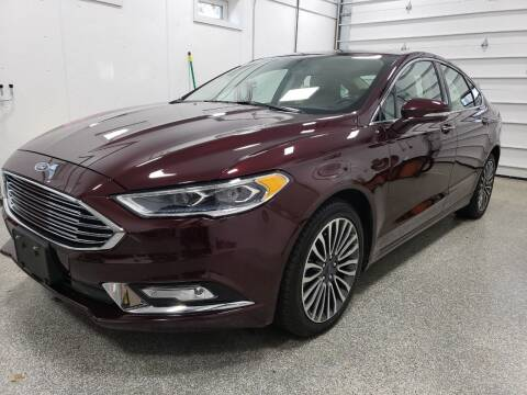 2017 Ford Fusion for sale at KLC AUTO SALES in Agawam MA