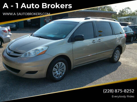 2010 Toyota Sienna for sale at A - 1 Auto Brokers in Ocean Springs MS