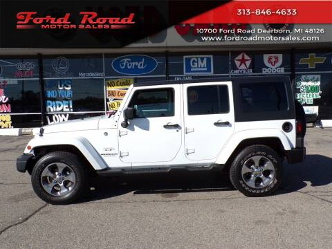 2016 Jeep Wrangler Unlimited for sale at Ford Road Motor Sales in Dearborn MI
