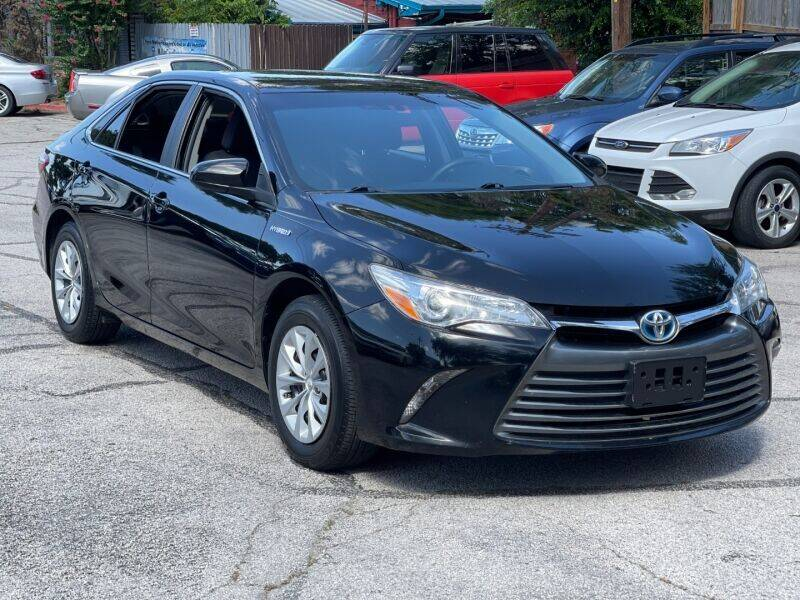2016 Toyota Camry Hybrid for sale at AWESOME CARS LLC in Austin TX