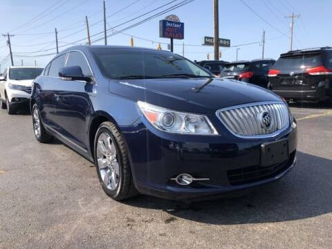 2010 Buick LaCrosse for sale at Instant Auto Sales in Chillicothe OH