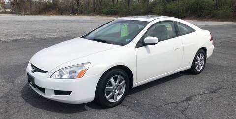 2005 Honda Accord for sale at Augusta Auto Sales in Waynesboro VA