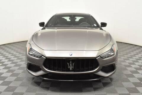 2021 Maserati Ghibli for sale at Southern Auto Solutions - Georgia Car Finder - Southern Auto Solutions-Jim Ellis Mazda Atlanta in Marietta GA