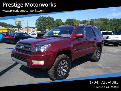 2005 Toyota 4Runner for sale at Prestige Motorworks in Concord NC