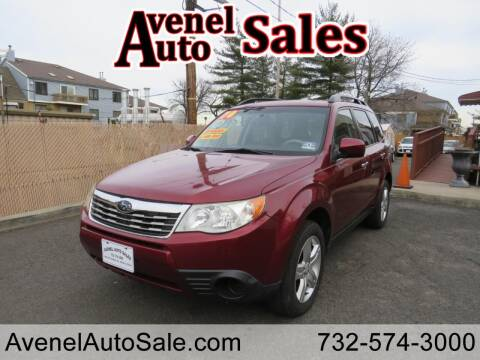 2010 Subaru Forester for sale at Avenel Auto Sales in Avenel NJ