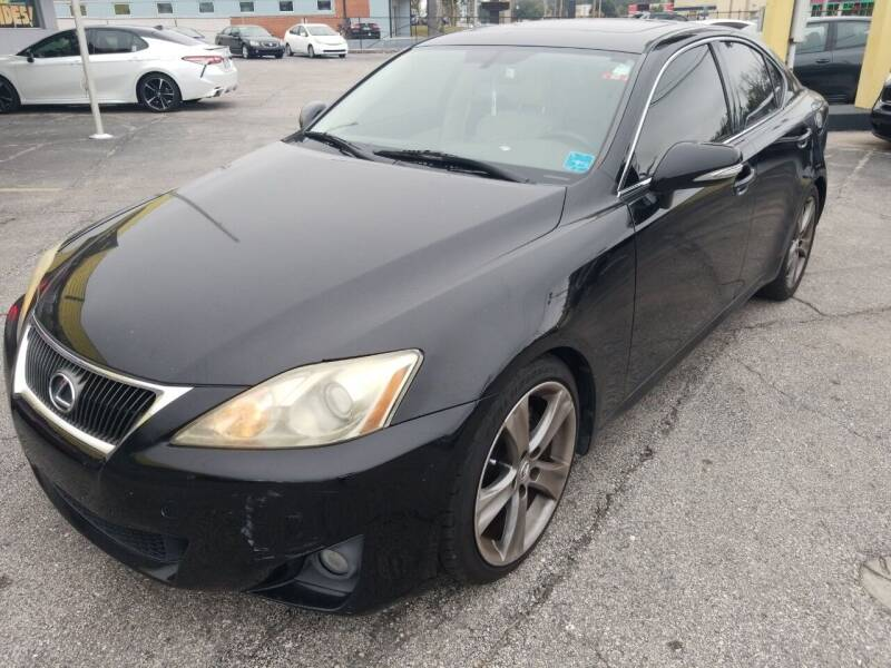 2011 Lexus IS 250 for sale at Castle Used Cars in Jacksonville FL