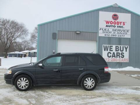 2008 Ford Taurus X for sale at Woody's Auto Sales Inc in Randolph MN