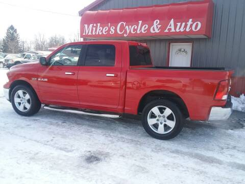 2009 Dodge Ram Pickup 1500 for sale at MIKE'S CYCLE & AUTO in Connersville IN