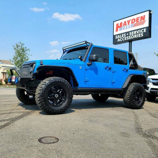 2012 Jeep Wrangler Unlimited for sale at Hayden Cars in Coeur D Alene ID