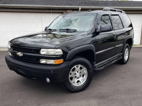 2004 Chevrolet Tahoe for sale at Riverfront Auto Sales in Middletown OH