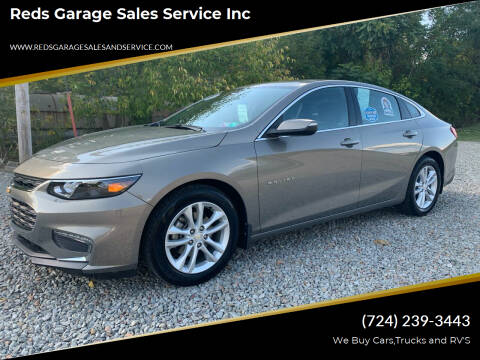 2017 Chevrolet Malibu for sale at Reds Garage Sales Service Inc in Bentleyville PA