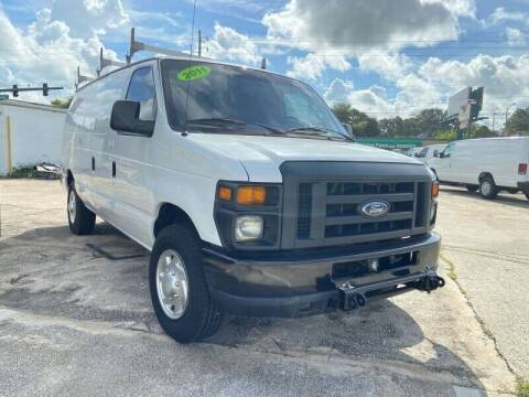 2011 Ford E-Series Cargo for sale at DOVENCARS CORP in Orlando FL