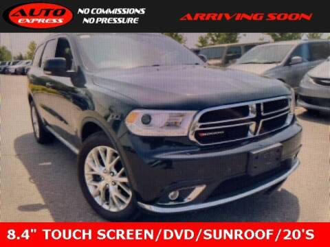 2016 Dodge Durango for sale at Auto Express in Lafayette IN