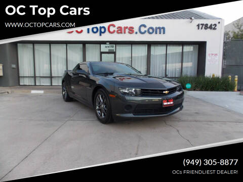 2014 Chevrolet Camaro for sale at OC Top Cars in Irvine CA