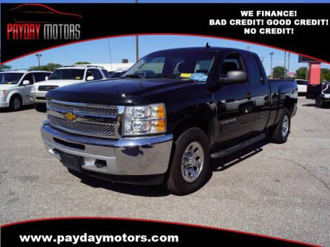 2012 Chevrolet Silverado 1500 for sale at Payday Motors in Wichita KS