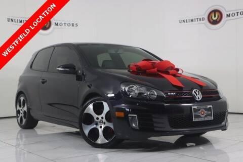 2010 Volkswagen GTI for sale at INDY'S UNLIMITED MOTORS - UNLIMITED MOTORS in Westfield IN
