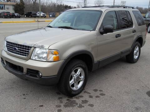 2003 Ford Explorer for sale at GLOBAL AUTOMOTIVE in Gages Lake IL