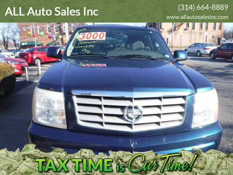 2006 Cadillac Escalade for sale at ALL Auto Sales Inc in Saint Louis MO
