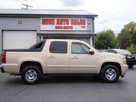 2007 Chevrolet Avalanche for sale at ENON AUTO SALES in Enon OH