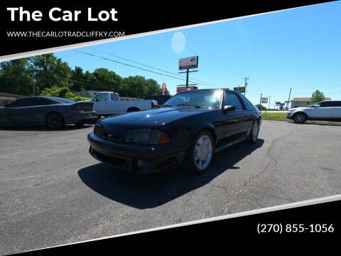 1993 Ford Mustang SVT Cobra for sale at The Car Lot in Radcliff KY
