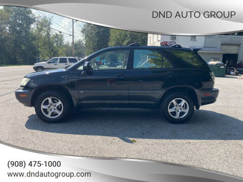 2002 Lexus RX 300 for sale at DND AUTO GROUP in Belvidere NJ