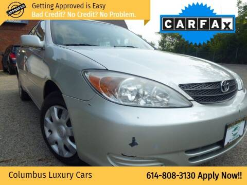 2003 Toyota Camry for sale at Columbus Luxury Cars in Columbus OH
