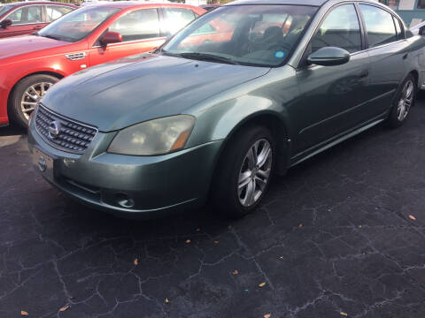 2005 Nissan Altima for sale at CAR-RIGHT AUTO SALES INC in Naples FL