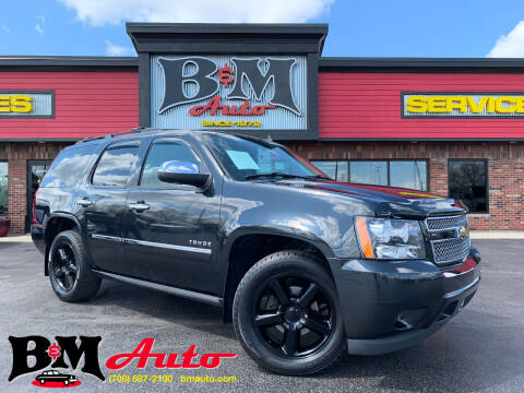 2010 Chevrolet Tahoe for sale at B & M Auto Sales Inc. in Oak Forest IL
