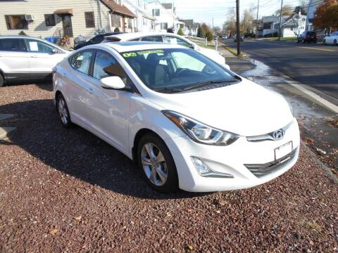 2016 Hyundai Elantra for sale at MARANO MOTORS INC in Sewaren NJ