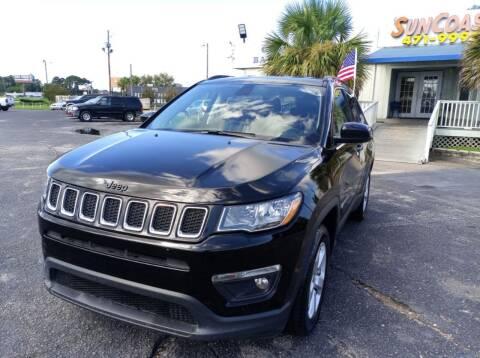 2019 Jeep Compass for sale at Sun Coast City Auto Sales in Mobile AL