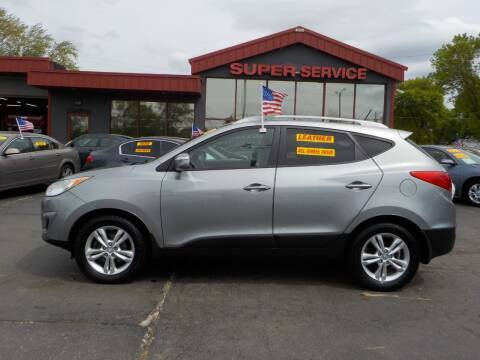 2012 Hyundai Tucson for sale at Super Service Used Cars in Milwaukee WI