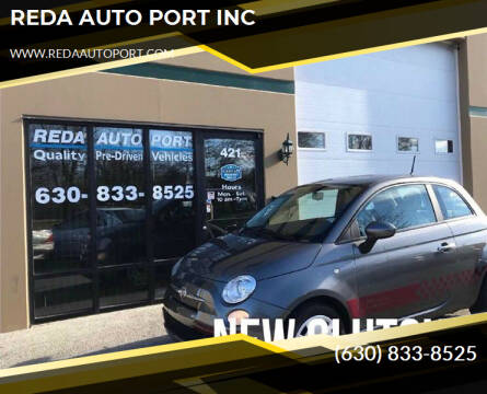 2012 FIAT 500 for sale at REDA AUTO PORT INC in Villa Park IL
