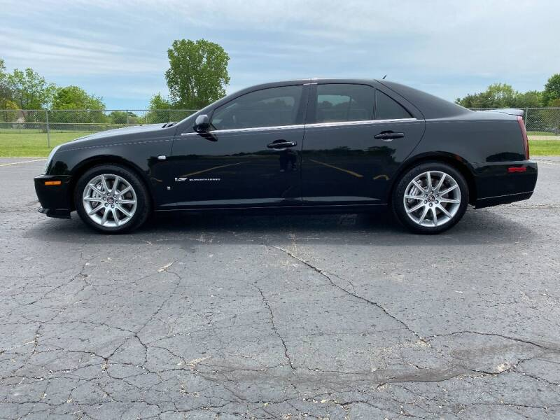 2006 Cadillac STS-V for sale at Caruzin Motors in Flint MI