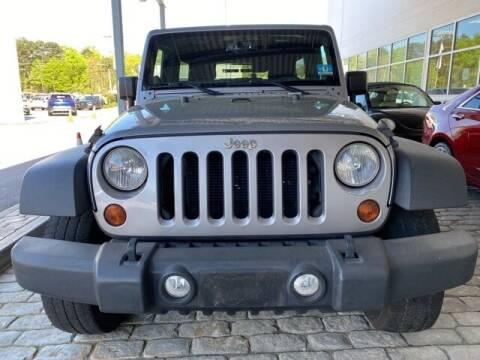 2013 Jeep Wrangler Unlimited for sale at Southern Auto Solutions-Jim Ellis Volkswagen Atlan in Marietta GA