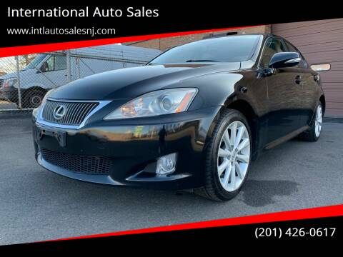 2010 Lexus IS 250 for sale at International Auto Sales in Hasbrouck Heights NJ