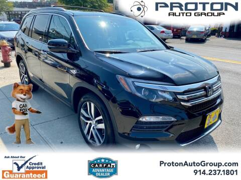 2016 Honda Pilot for sale at Proton Auto Group in Yonkers NY