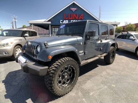 2008 Jeep Wrangler Unlimited for sale at LUNA CAR CENTER in San Antonio TX