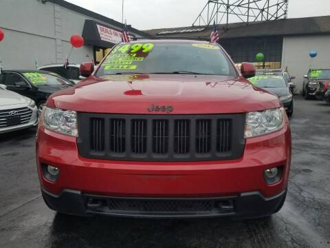2011 Jeep Grand Cherokee for sale at Deals On Wheels Auto Group in Irvington NJ
