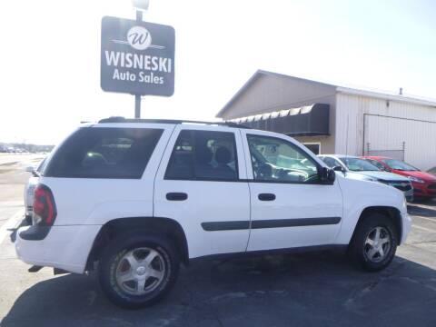 2005 Chevrolet TrailBlazer for sale at Wisneski Auto Sales, Inc. in Green Bay WI