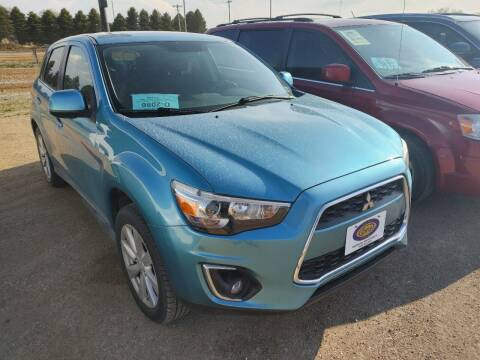 2013 Mitsubishi Outlander Sport for sale at BERG AUTO MALL & TRUCKING INC in Beresford SD