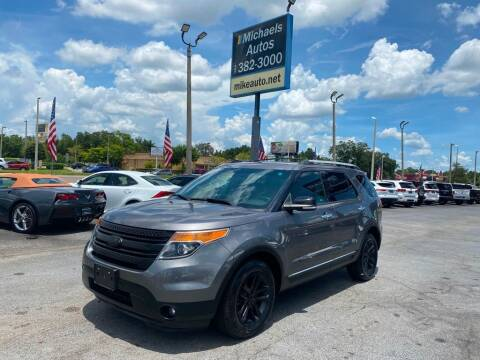 2014 Ford Explorer for sale at Michaels Autos in Orlando FL
