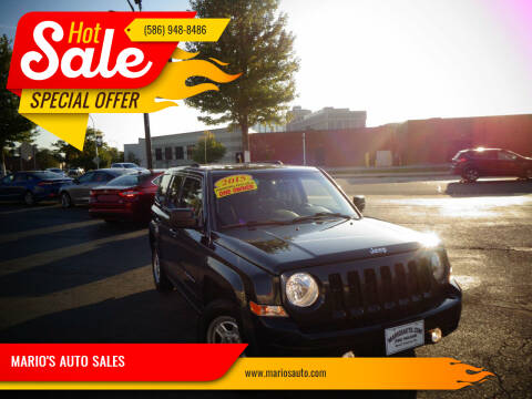 2015 Jeep Patriot for sale at MARIO'S AUTO SALES in Mount Clemens MI