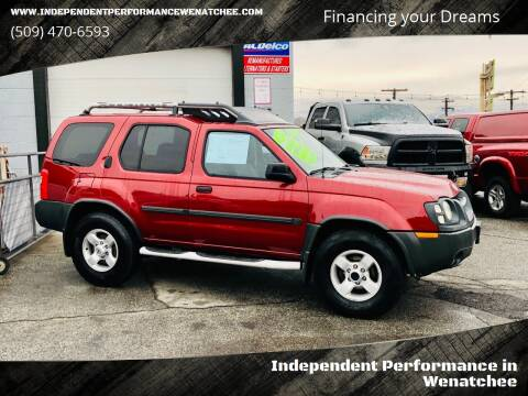 2004 Nissan Xterra for sale at Independent Performance Sales & Service in Wenatchee WA