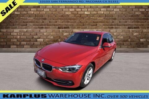 2018 BMW 3 Series for sale at Karplus Warehouse in Pacoima CA