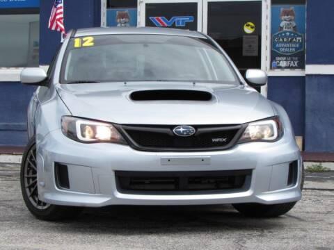 2012 Subaru Impreza for sale at VIP AUTO ENTERPRISE INC. in Orlando FL