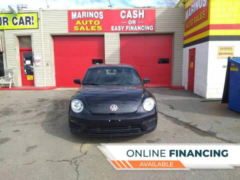 2018 Volkswagen Beetle for sale at Marino's Auto Sales in Laurel DE