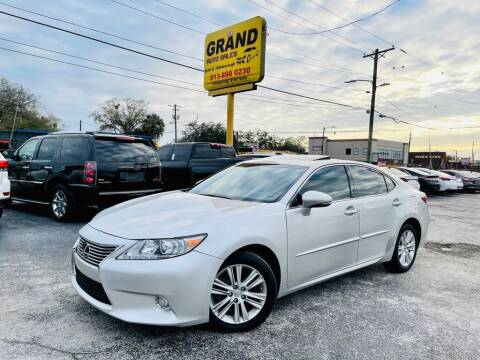 2013 Lexus ES 350 for sale at Grand Auto Sales in Tampa FL