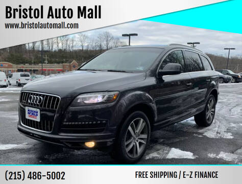 2013 Audi Q7 for sale at Bristol Auto Mall in Levittown PA